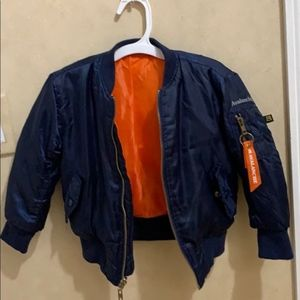 Outdoor Supply Co Boys Blue Puffer Jacket Size 3T